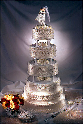 Cake Boss Traditional Italian Wedding Cake